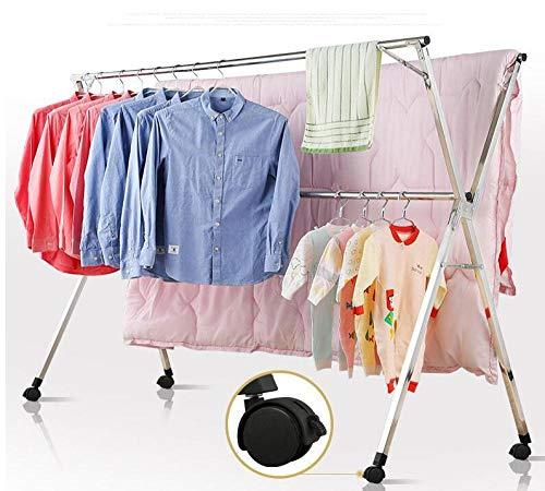 Blanc JVL Folding Clothes Radiateur Séchage Séchoir Rack