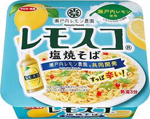 サンヨー食品 瀬戸内レモン農園 レモスコ 塩焼そば 97g ×12個