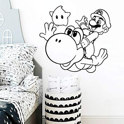 Sanzangtang DIY Art Comic Modieuze muurstickers voor babykamer, slaapkamer, muurstickers van vinyl, voor kinderkamer