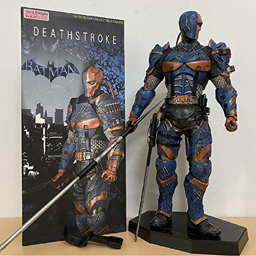 Anime Model Statuedeathstroke Action Figure Deathstroke Figure Statue Collection Model Toys Doll Gift 30Cm