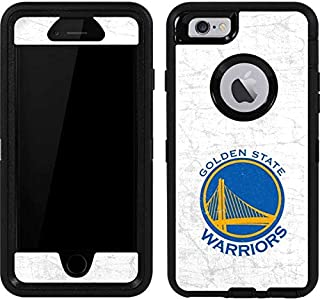 Skinit Decal Skin for OtterBox Defender iPhone 6 - Officially Licensed NBA Golden State Warriors Distressed Design