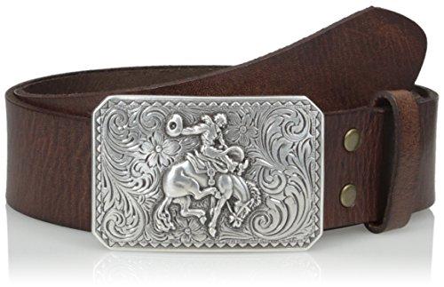 Nocona Belt Co. Hombres Cinturón - Marrón -
