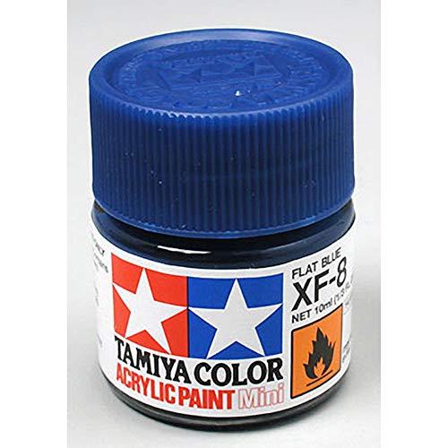 Peinture Acrylique 10ml Bleu Plat XF8