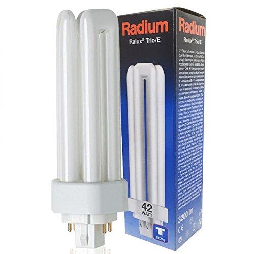 RADIUM Kompaktleuchtstofflampe, G24q-3, 42 W