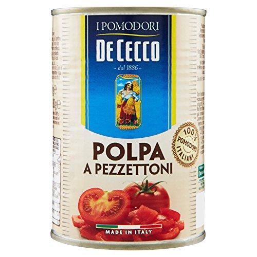 De Cecco Polpa a Pezzettoni - 6 pezzi da 400 g [2400 g]