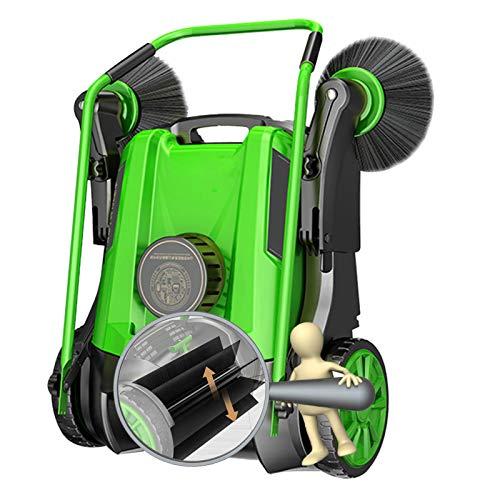 HJGHY Kehrmaschine, Manuell, Kehrbreite 980 mm,Kehrmaschine Ohne Antrieb für Gärten, Parks, Innenhöfe, Geschäftsbereiche