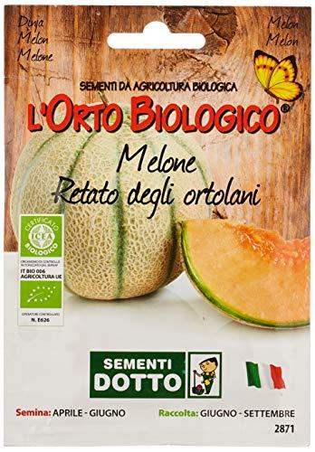 Sdd O.Bio_Melone Retato Ortolani Seme, 0.02x15.5x10.8 cm