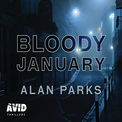 Bloody January audiobook cover art