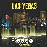 Las Vegas 2021 calendar: Monthly Square Calendar 2021, 18 Months Nevada Rocky Mountain