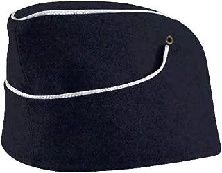 WW2 German M38 Kriegsmarine Officer Overseas Cap Navy Blue