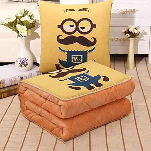 Challenge the lowest price of Japan YANYUNBIN Cartoon Cotton Fabric Pillow Quilt Childre Dual famous Use