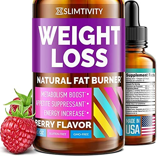 Appetite Suppressant for Weight Loss – Great Way to Lose Weight Fast for Women & Men – Our Advanced Metabolism Booster for Weight Loss Works as Perfect Hunger Suppressant for Women – 1 Fl. Oz.