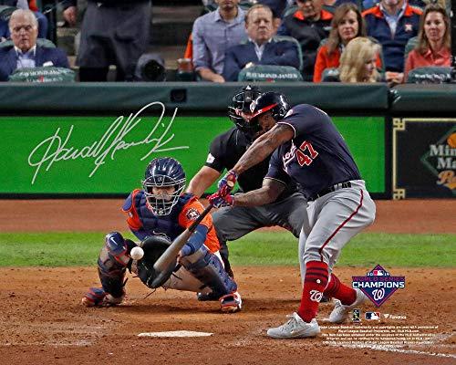 Howie Kendrick Washington Nationals Autographed 2019 World Series Champions 8