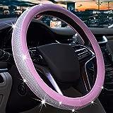 Diamond Rhinestone Steering Wheel Cover for...