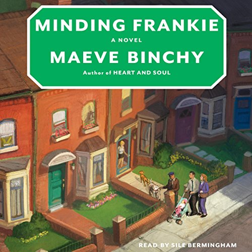 Minding Frankie audiobook cover art
