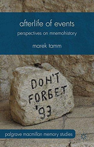 Afterlife of Events: Perspectives on Mnemohistory (Palgrave Macmillan Memory Studies) (English Edition)