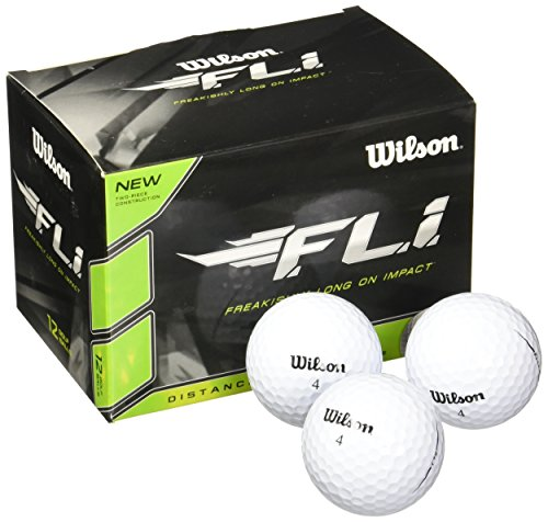 Wilson Staff F.L.I. Golf Balls (Pack of 12)