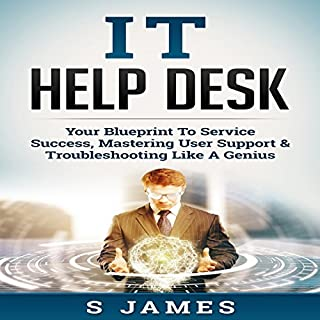 IT Help Desk audiobook cover art