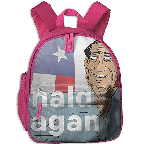 Toddler Pre School Backpack Boy&girl's American Cartoon Ronald Reagan Book Bag