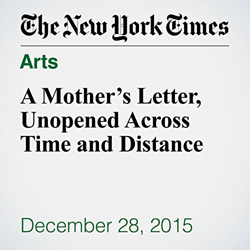 A Mother's Letter, Unopened Across Time and Distance audiobook cover art