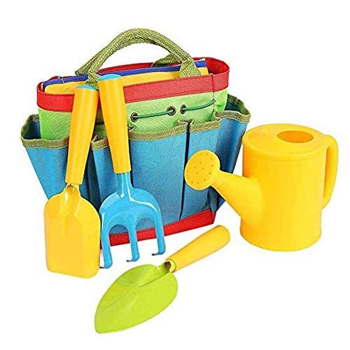 Children's Gardening Set Tuingereedschap, Kids Tuinieren Toys Garden Play Game Kits Gereedschap Met Metalen Kop