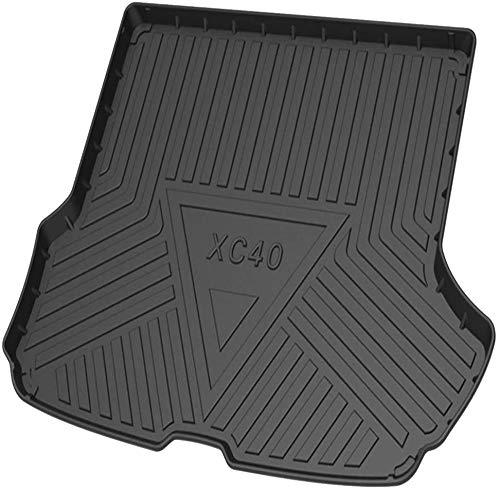 Caoutchouc Voiture Arrière Tapis Coffre Bagages pour Volvo XC40 2020 2021, Anti-dérapants Imperméable Mesure Protection Accessoires
