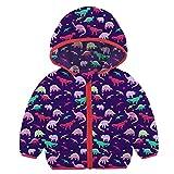 Little Baby Girls Classic Lovely Hoody Puffer Coat Baby Boys Winter Warm Puffer Hooded Jacket Navy Blue