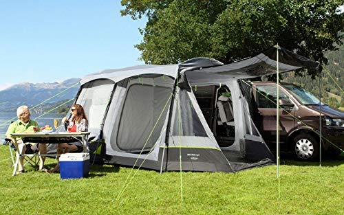 Berger Busvorzelt Morena Camping Vorzelt Zelt WS3000mm Tunnelzelt Familienzelt Moskitogaze Gestänge