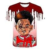 Camiseta terrorífica de basket