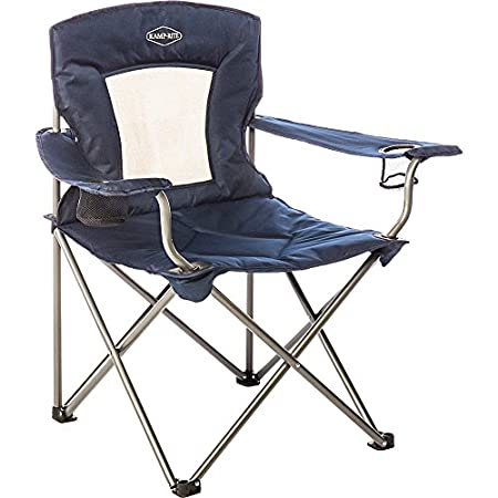 Kamp Rite Padded Chair with Mesh Back.