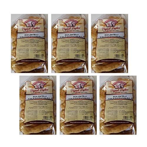 Taralli Pugliesi, Scaldatelli Tradizionali di Foggia 6x400 gr, PAT Prodotto Agroalimentare Tradizionale