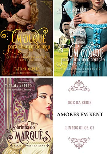 Box da série Amores em Kent - livros 1, 2, 3. (Portuguese Edition)
