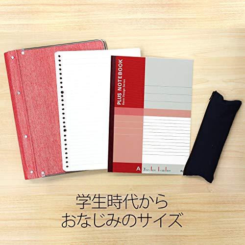 『プラス ノート セミB5(6号)A罫30枚10冊パック NO-003AJ-10P 75-085』の4枚目の画像
