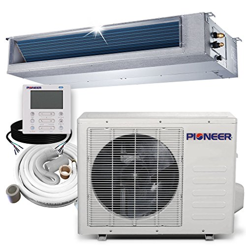 Pioneer RYB018GMFILCAD Ceiling Concealed Ducted Mini-Split Air Conditioner and Heat Pump System Full Set