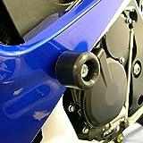Shogun LEFT SIDE BODY MODIFICATION REQUIRED 2006 2007 Suzuki GSXR600 GSXR 600 2006 2007 Suzuki GSXR750 GSXR 750 Black Frame Sliders - 750-5429 - MADE IN THE USA