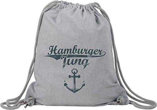 EZYshirt® Hamburger Jung & Deern Vol. 2 Baumwoll Stoffbeutel