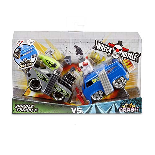 Wreck Royale Exploding Cars is one of the top new toys for boys age 6