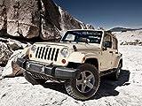 0-HO8070 Jeep Wrangler 47cm x 35cm,19inch x 14inch Silk