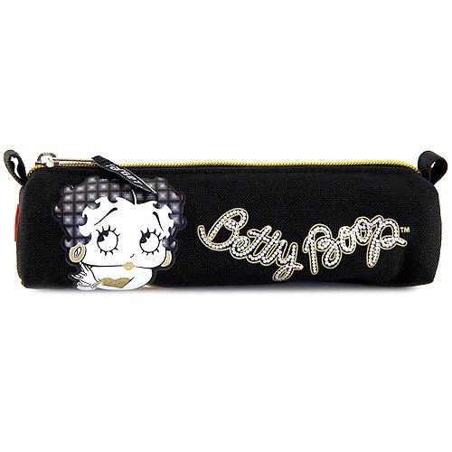Betty Boop Kinder-Sporttasche, Schwarz/Gold