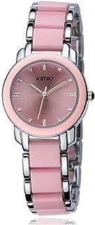 KIMIO Luxury Women Watches Ceramics Women's Bracelet Watch Fashion Quartz Watch Woman Waterproof