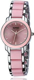 KIMIO Luxury Women Watches Ceramics Women's Bracelet Watch Fashion Quartz Watch Woman Waterproof