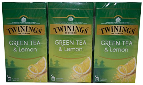 Twinings of London Green Tea & Lemon 3 x 25 Teebeutel