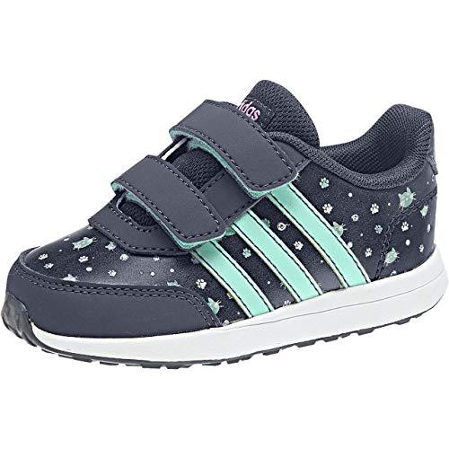 adidas VS Switch 2 CMF INF, Zapatillas de Deporte Unisex niño, Azul (Azutra/Mencla/Onix 000), 24 EU