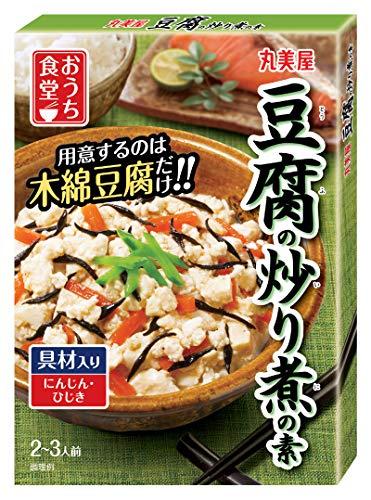 丸美屋食品工業 おうち食堂 豆腐炒り煮 120g×10個