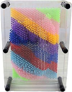 Hergon 3D Clone Huella de huella dactilar, juguete para pintar, broche en forma de juego, bloque de construcción de modelo de aguja small T