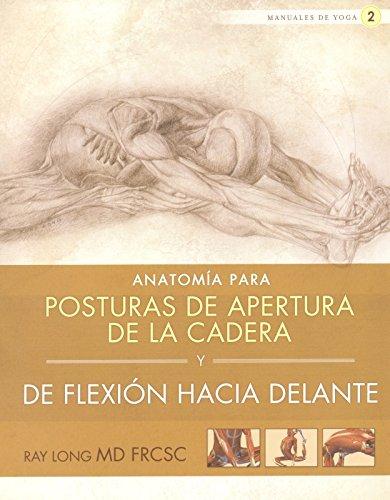 Anatomía para posturas de apertura de la cadera y de flexión hacia...
