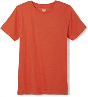boys burnt orange shirt