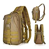 LUXHMOX Fishing Tackle Backpack Multi-Functional Outdoor Fishing Water-Resistant Tackle Storage Bag...