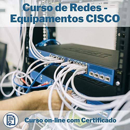 Curso Online em videoaula de Redes - Equipamentos CISCO com Certificado + 2 brindes