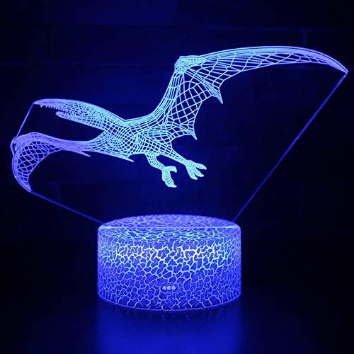 Synchain Illusion 3D Nachtlicht, LED Tisch Schreibtisch Lampen, USB-Lade Optische Täuschung Lampe, die Schlafzimmer-Dekoration für Kinder Weihnachten Halloween-Geburtstagsgeschenk Beleuchten (B)